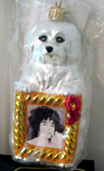 Radko AIDS 1998 Elizabeth LIZ TAYLOR Charity ornament resized