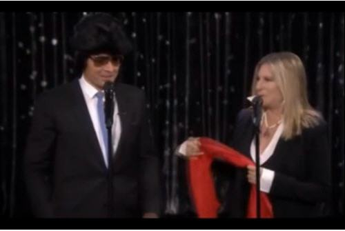 Barrbara Streisand and Jimmy Fallon Sept 16 2014