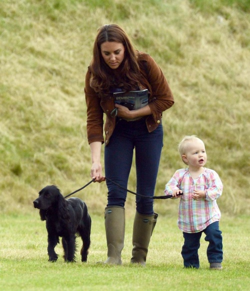 Kate Middleton George and Lupo