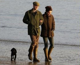 Lupo William and Kate  island of Anglesey in Wales Sept 20 2013 no 1
