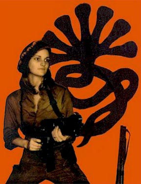 Patty Hearst As Tania  the urban guerrilla