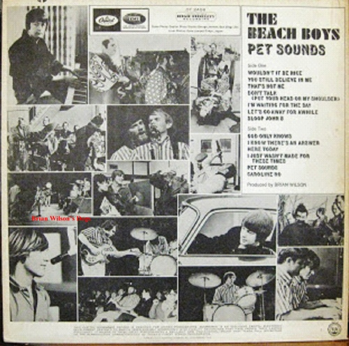 Pet Sounds Record Jacket with Brian Wilsons Dogs